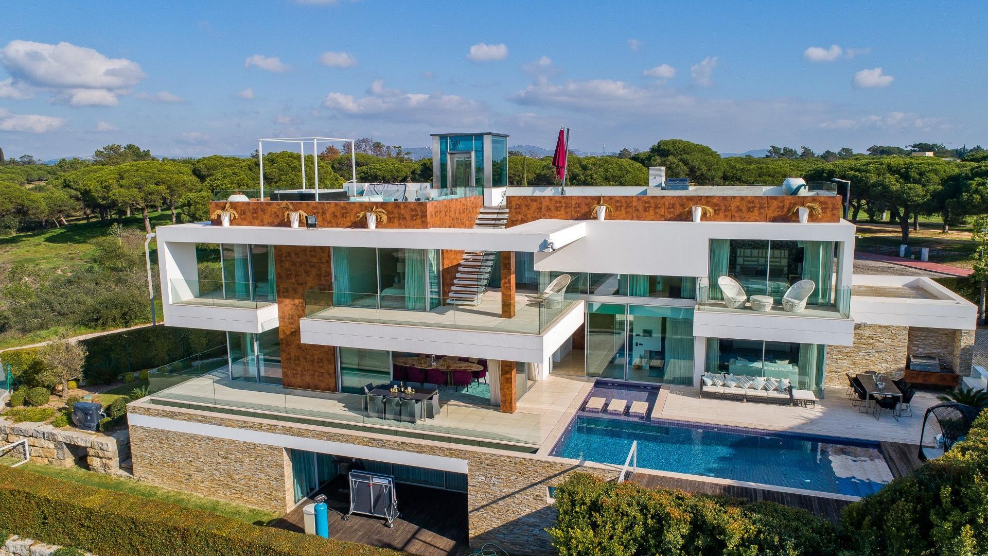 Villa Zeus Vale Do Lobo Algarve Sandyblue